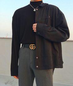 "429 tykkäystä, 50 kommenttia - 유수(27)🇰🇷 (@running_water94) Instagramissa: ""새해 복 많이 받으시고 다들 행복 하세요😉"" Asian Fashion, Normcore, Style, Swag, Outfits"