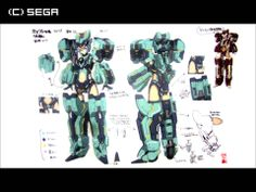 Phantasy Star Online 2 Character Model Sheet, Character Modeling, Character Concept, Character Design, Phantasy Star Online 2, Fantasy Star, Military Armor, Space Girl, Sci Fi Characters