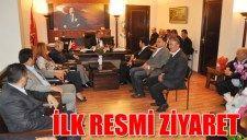 İLK RESMİ ZİYARET  
