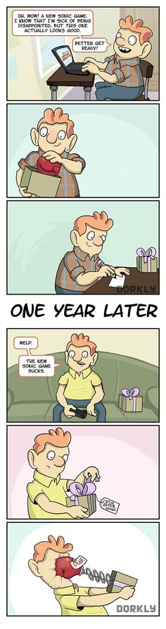 """""""How to Prepare for Every New Sonic Game"""" #dorkly #geek #sonic"""