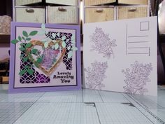 """2 of 2 made by sandie irving """"stamps by me ltd"""" stamps and dies"""