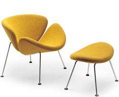 Pierre Paulin's Orange Slice Chair