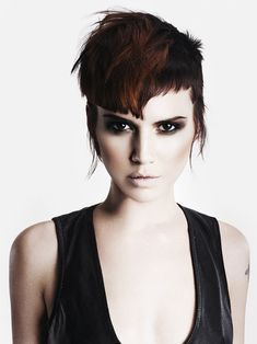 Hair: Darren Bain @HOB Salons Photography: John Rawson Make-up: Lan Nguyen - Grealis Stylist: Ozzy Shah