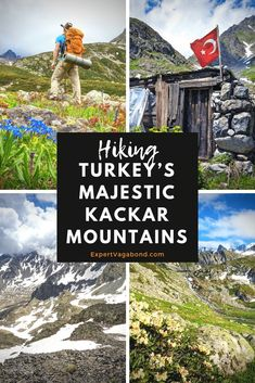 Wildflowers & Ice: Hiking Turkey's Majestic Kackar Mountains! More at ExpertVagabond.com #Mountains #Adventure #Travel #Turkey Adventure Time Quotes, Adventure Symbol, Adventure Travel, Adventure Awaits, Adventure Tattoo, Amazing Destinations, Travel Destinations, Trekking, Turkey Travel