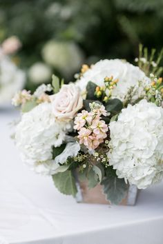 wedding centerpiece idea; photo: Kelsey Combe Photography