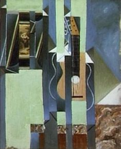 Juan Gris, La Guitare, mai 1923 #modernart #music