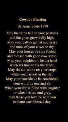 Cowboy Blessing