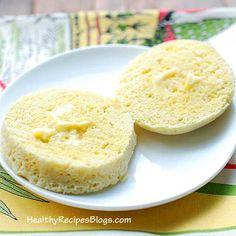Coconut Flour Microwave Bread