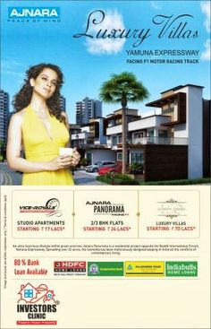 #Ajnara Panorama: An ultra luxurious lifestyle within green environs, http://ow.ly/lx1sa #noida #property