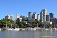 Cruising the Brisbane River Australia (The World Is A Book)