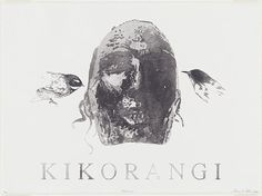 Shane Cotton, Kikorangi. 2004 planographic lithograph