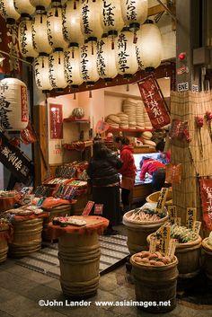 """Kyoto's Kitchen"" Nishiki Market, Japan"