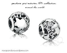 Pandora Around the World charm from the Pre-Autumn 2015 collection!