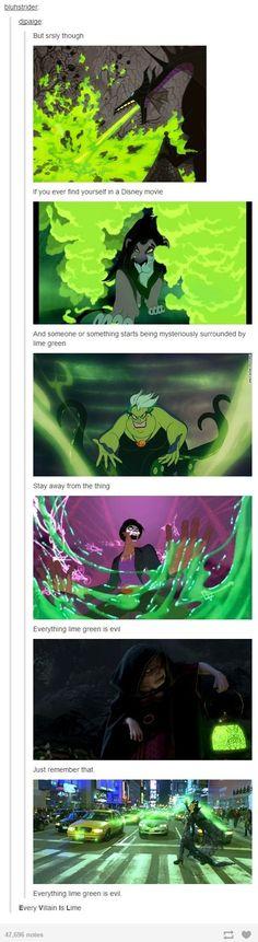 E.V.I.L - Every Villian Is Lime lol