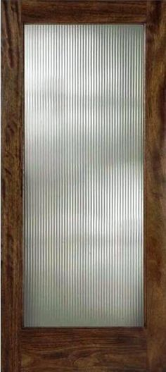 Custom reeded glass doors can me made relatively inexpensively and would be a great solution for the living/ dining area. Hides clutter, contemporary but keeps things light and airy. Glass Cabinet Doors, Sliding Glass Door, Glass Cabinets, Glass Doors, New Mobile Homes, Reeded Glass, Upstairs Bathrooms, Ensuite Bathrooms, Privacy Glass