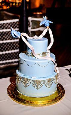 Wedding Cake Wednesday: Cinderella's Bluebirds | Ever After Blog | Disney Fairy Tale Weddings and Honeymoon