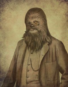 Chancellor Chewie by Terry Fan