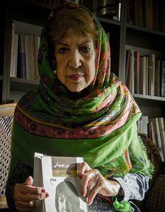 simin behbhani iranian poet.