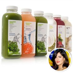 Hollywood's Top Juice Fasts - The Cooler Cleanse from #InStyle