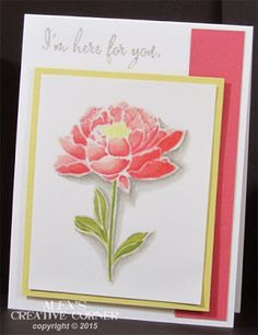 I'm here for you by punch-crazy - Cards and Paper Crafts at Splitcoaststampers