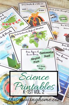 Science Printables Vol. 2 - This Growing Home