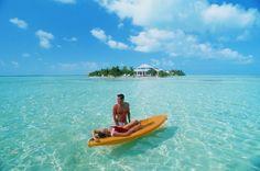 Cayo Espanto, a private, all-inclusive resort in Belize