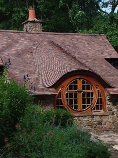 Whimsical Design | Cottage Window | Exterior Design | Architecture | Detail