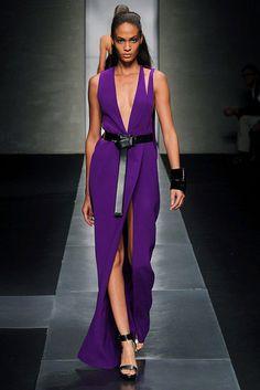 Gianfranco Ferre...purple and black