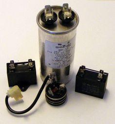 WJ20x10008 WP20X10005 WJ20x10017 GE Air Conditioner Run Capacitor Compressor Protector