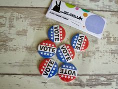 VOTE Badges heading out to a School in the Midlands https://www.koolbadges.co.uk/index.php?main_page=advanced_search_result&search_in_description=1&zenid=7o5htnr5rqu0t2dmagbkr04im4&keyword=VOTE&x=0&y=0&utm_content=bufferd3c05&utm_medium=social&utm_source=pinterest.com&utm_campaign=buffer #Vote #buttonBadges