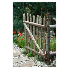 Rustic Garden Gates | GAP Photos - Garden & Plant Picture Library - Rustic wooden gate ...