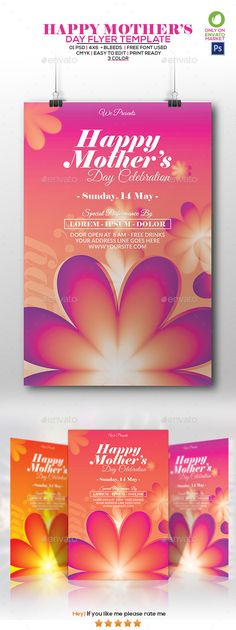 Mothers Day Flyer  Download Heres And Flyer Template