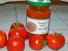 Chefkoch.de Rezept: Tomatensoße auf Vorrat
