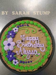 Miraculous 24 Best Publix Cookie Cake Ideas Images Cookie Cake Designs Personalised Birthday Cards Petedlily Jamesorg
