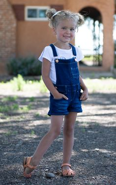 Blueberry Romper – Mountain Aire Boutique Dark Denim, Overall Shorts, Boutique Clothing, Blueberry, Little Girls, Overalls, Mountain, Rompers, Running