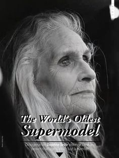 """THE VISIBLE WOMAN - a terrific interview with The World's Oldest Supermodel Daphne Selfe (1928) on life, dancing and modeling - """"I have never really thought about aging, one simply gets on with life and family."""""""
