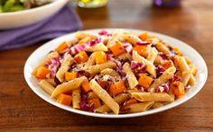 Barilla® Whole Grain Penne with Radicchio, Butternut Squash & Parmigiano-Reggiano Cheese