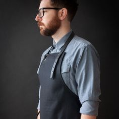 Canvas Apron.