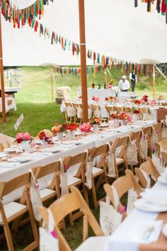10 Unique Ways To Use Bunting At Your Wedding!