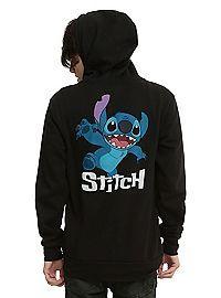 HOTTOPIC.COM - Disney Lilo & Stitch Stitch Zip Hoodie