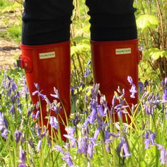 ☀️❤️ #walking #sunny #hunter #happy #hunterboots #love #red #nature #sundaywalk #hunterwellies #spring Spring Summer 2016, Hunter Boots, Rubber Rain Boots, Walking, Happy, Nature, Red, Instagram, Naturaleza