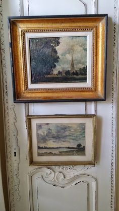 USE ANTIQUE DOOR AS BACKDROP TO HANG ARTWORK. TG interiors: Living room up date