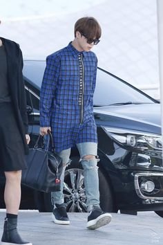 150921 BTS @ Incheon Airport otw to SF, USA for 1st  Highlight 2015 tour