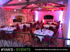 Dj Animation, Deco Led, Location, Events, Concert, Red Roses, Concerts
