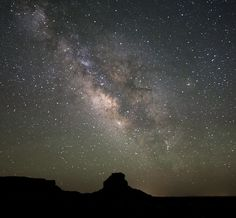 The Chaco Culture National Historical Park has just been designated a Dark Sky Park. Free of light pollution, the archaeological site in northwestern New Mexico offers amazing views of the night sky, such as this view of the Milky Way. Credit: Stan Honda