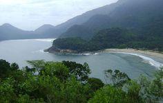 Camburi - Ubatuba - SP - Uma das praias mais completas do litoral brasileiro. Tem uma linda paisagem, um lindo pôr-do-sol, mais de sete cachoeiras próximas a praia, tem rios, escorregadores naturais, tem trilhas para praias selvagens com a brava de camburi que o acesso é feito somente por trilha, entre outros atrativos.