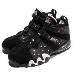 Nike Air Max 2 CB 94 Charles Barkley Black Bronze Mens Shoes 305440-004 91e63fb7b9