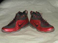 014d83f71e8 Nike 1 2 Cent size 12 Red Black Air Max Foamposite Jordan  Nike   BasketballShoes