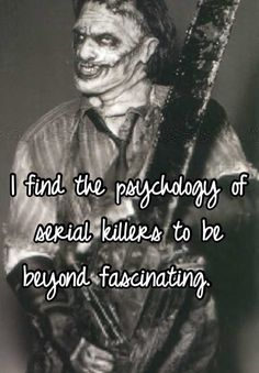 Writing a research paper on the psychology behind the mind of a killer.?