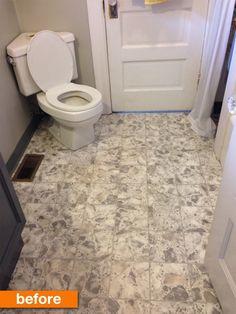 DIY Room Decor: How To Paint Over Vinyl Floor Tiles | Pinterest ...